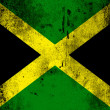 The Jamaica flag - Stock Photo