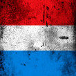 The Luxembourg flag - Stock Photo