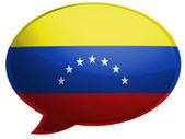 La bandiera venezuelana — Foto Stock