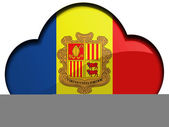 Andorra flag — Stock Photo