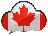 La bandiera canadese — Foto Stock