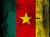 喀麦隆国旗 — 图库照片