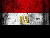 Egyptská vlajka — Stock fotografie