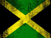 The Jamaica flag — Stock Photo