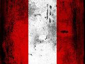 Flaggan peru — Stockfoto