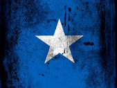 The Somalia flag — 图库照片