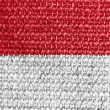 The Indonesian flag — Stock Photo