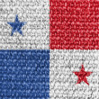 Stock Photo: The Panama flag