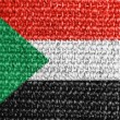 Stock Photo: The Sudan flag