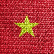 Stock Photo: The Vietnamese flag