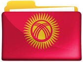 Kyrgyzstan flag — Photo