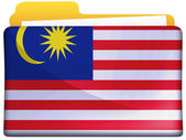 The Malaysia flag — Photo