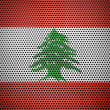 Lebanese flag — Stock Photo #15008181