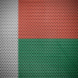 The Madagascar flag — Stock Photo