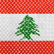Lebanese flag — Stock Photo #15009827