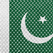Pakistani flag — Stockfoto #15009985