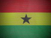The Ghana flag — Stock Photo