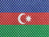 The Azerbaijani flag — 图库照片