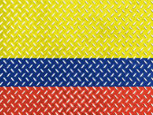 The Colombian flag — Foto de Stock