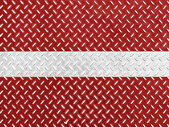The Latvian flag — Stockfoto