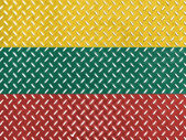 The Lithuanian flag — Stock Photo