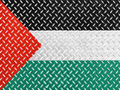 The Palestinian flag — Stockfoto