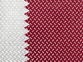 The Qatari flag — Stockfoto