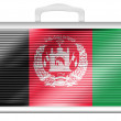 Afghanistan flag — Stock Photo