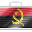 Angola flag — Stock Photo