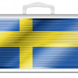 The Swedish flag -  