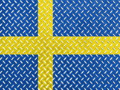 The Swedish flag — Foto de Stock