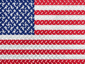 The USA flag — 图库照片