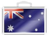 Die australische flagge — Stockfoto