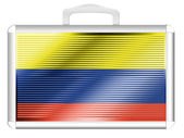 The Colombian flag — Stock Photo
