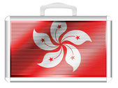 Hong-hong flag — Foto de Stock
