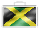 The Jamaica flag — Foto de Stock