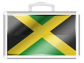 Jamaica flag — Foto de Stock