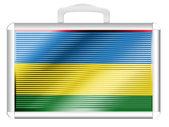 Mauritania flag — Stock Photo