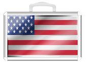 Flaga usa — Zdjęcie stockowe