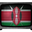 Kenya flag - Stock Photo