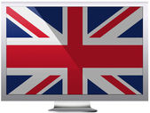 The British flag — Stock Photo