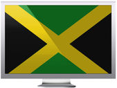 Jamaica flag — Foto Stock