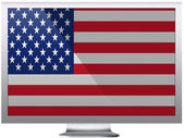 The USA flag — Stock fotografie