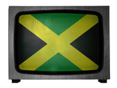 The Jamaica flag — Stock Photo