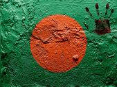 The Bangladesh flag — Foto de Stock