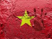 La bandiera vietnamita — Foto Stock