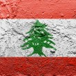 Lebanese flag — Stock Photo #15385803