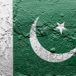 The Pakistani flag — Stock Photo #15385871