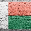Madagascar flag — Stock Photo #15387333