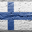 Stock Photo: Finnish flag